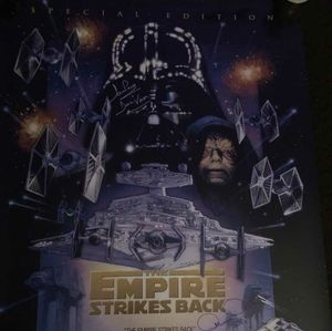 Star Wars Special Edition Signed Poster
